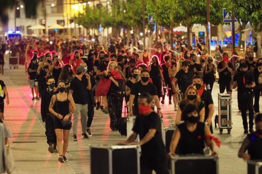 Los músicos y artistas de Ibiza se sumarán a la protesta.