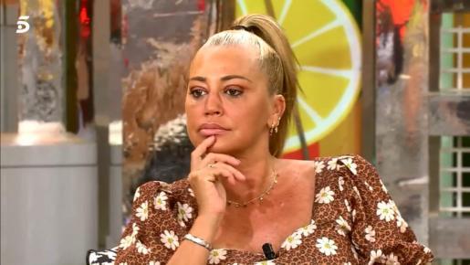 Belén Esteban explicó que la tonadillera todavía tiene que dar una entrevista en la cadena.