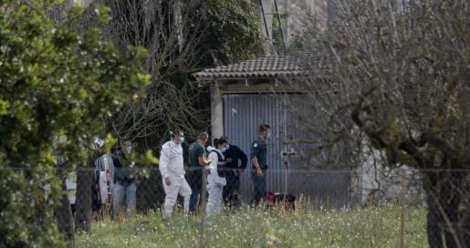 Buscan en una finca de Biniagual el cadáver de un hombre que pudo ser asesinado.