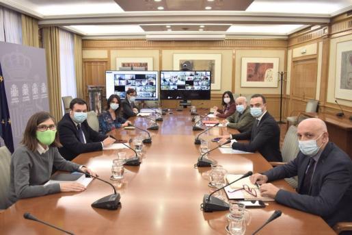 Reunión del Consejo Interterritorial del Sistema Nacional de Salud (CISNS).