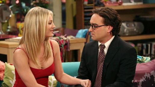 Los actores interpretaban a Leonard y Penny en la serie 'The Big Bang Theory'.