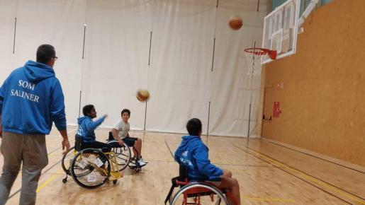Una de las actividades por la Semana del Deporte Adaptado.