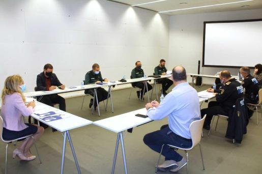 Imagen de la reunión celebrada esta semana.