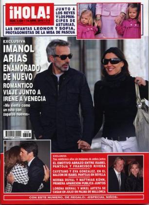 La portada de Hola muestra al actor paseando con su nuevo amor.