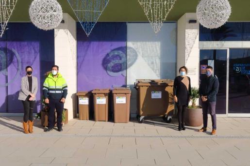 El ayuntamiento de Sant Antoni es el primero de la isla en iniciar la recogida selectiva de materia orgánica.