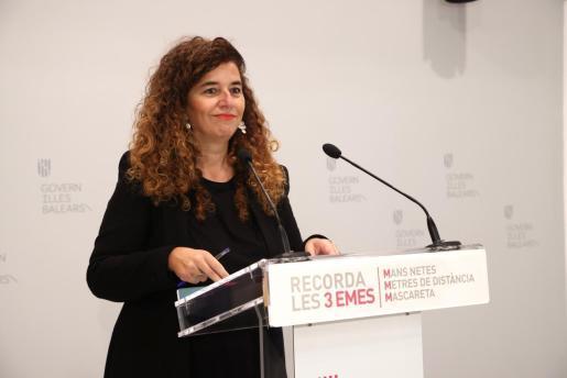 La portavoz del Govern, Pilar Costa.