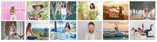 Los participantes en esta primera edición son «algunos de los mejores talentos embajadores wellness de Ibiza».