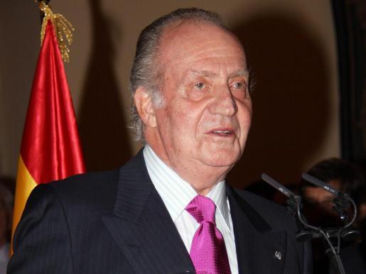 Imagen de archivo del Rey emérito.