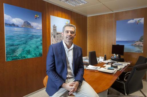 Juan Miguel Costa está al frente de la dirección insular de Turismo de Eivissa desde octubre del año pasado.