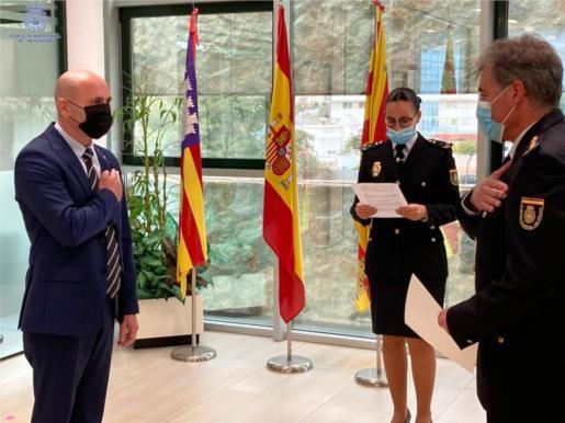 Entrega de la mención honorífica en Ibiza.