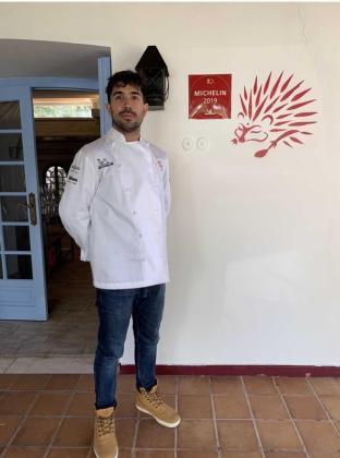El chef Álvaro Sanz, del restaurante Es Tragón.