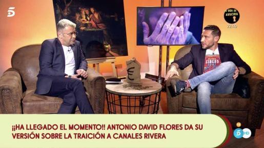 El presentador de 'Sálvame', muy duro con el colaborador tras su traición a Canales Rivera.