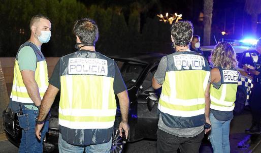 El arresto fue practicado por agentes de la UFAM de la Policía Nacional.