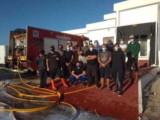 29 profesionales del sector pesquero de Formentera participaron en la formación.