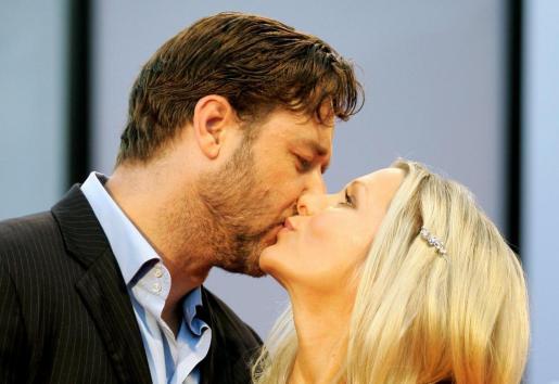 Russell Crowe y Danielle Spencer, en una imagen de archivo.