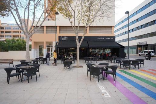 Un bar de Ibiza durante la pandemia.