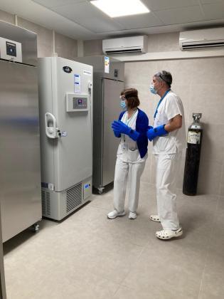 Ibiza recibe la vacuna contra la Covid-19.