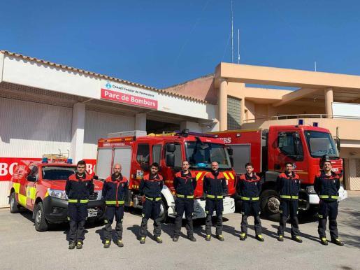 Bomberos de Formentera.