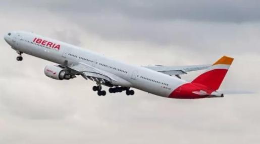 Avión de Iberia.
