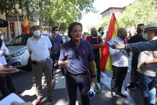 Jorge Campos, líder de VOX en Baleares, en una imagen de archivo.