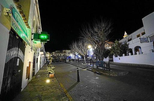 Tras la gélida noche de Reyes ayer se registraron 0,5 grados en el pueblo.