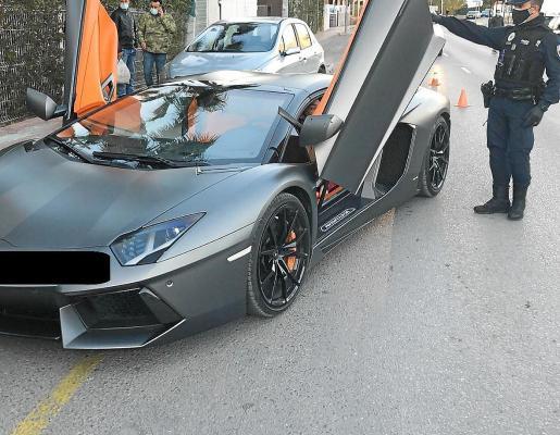 El conductor fue interceptado, la tarde del miércoles, por un control de la Policía Local de Sant Antoni.