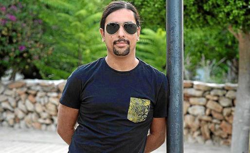 Danilo Martínez, presidente de la Associació de Músics d'Eivissa.