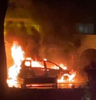 Cuarto incendio ed vehículos en cuatro días