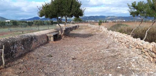 El Parque Natural de Ses Salines recupera el callejón de Can Blai para los peatones