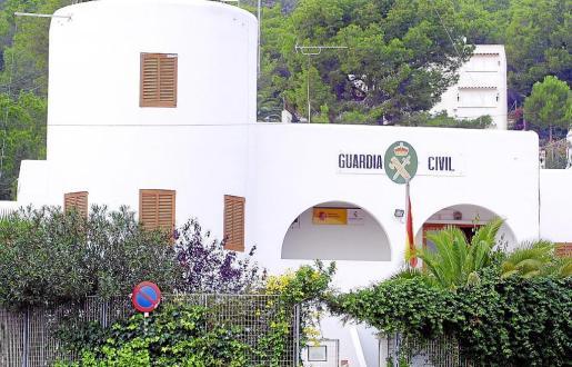El acusado fue detenido por agentes de la Guardia Civil de Santa Eulària.