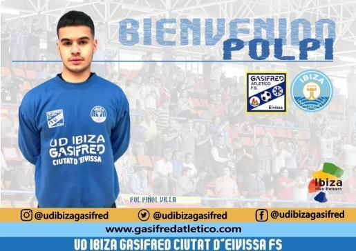 Polpi nuevo portero de UD Ibiza Gasifred Ciutat d'Eivissa.