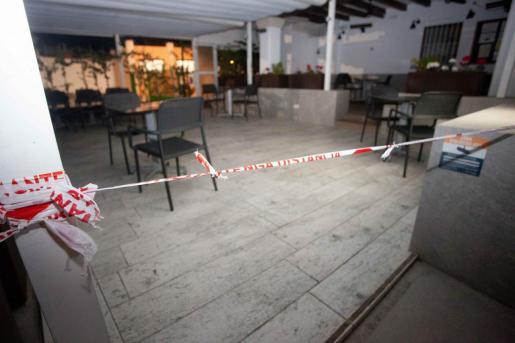 Imagen de un restaurante de Ibiza.