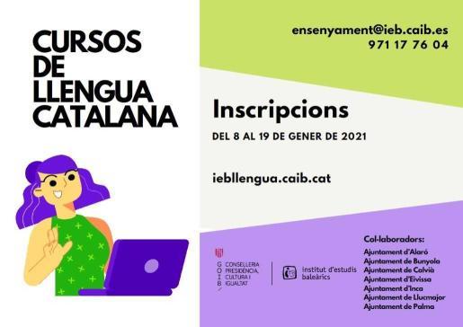 Abierta la inscripción para los cursos de catalán del IEB hasta el 19 de enero.