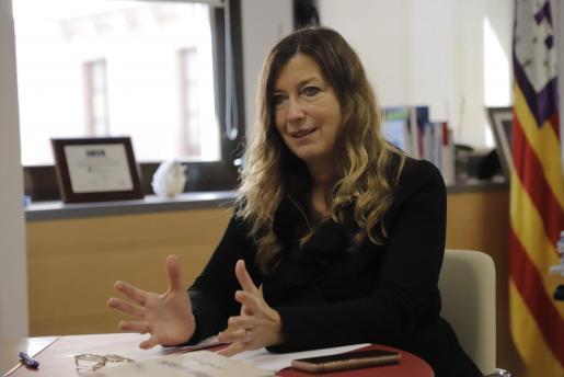 La consellera de Salut, Patricia Gómez.