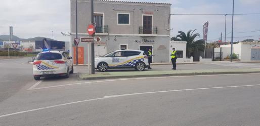 Control de la Policía Local de Vila.