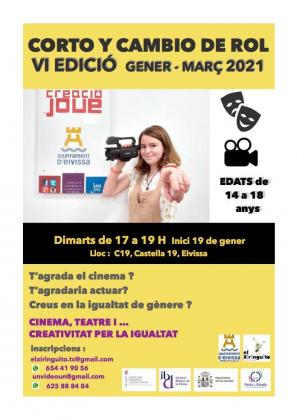 Vila organiza la VI edición del proyecto socioeducativo 'Corto y cambio de rol'.