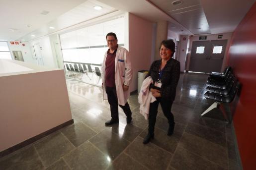Ramón Canet y Violeta Vega, en can Misses, en una imagen de archivo.