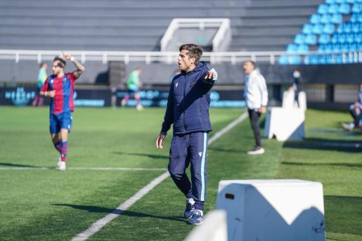 Alessio Lisci, entrenador del Atlético Levante
