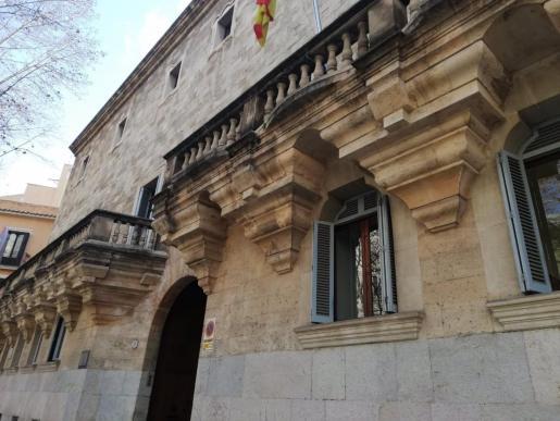 El palacio de Justicia, sede de la Audiencia Provincial y el TSJIB.