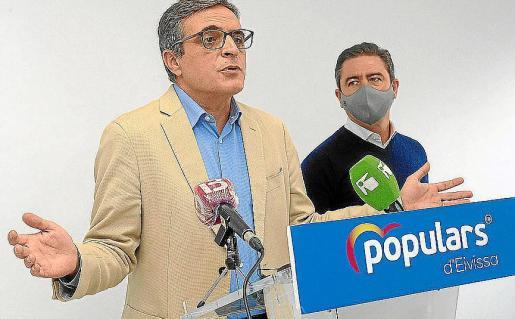 José Vicente Marí Bosó y Miquel Jerez, en una imagen de archivo.