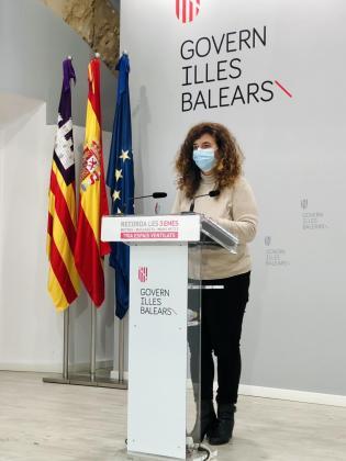 Pilar Costa, ayer, en rueda de prensa.