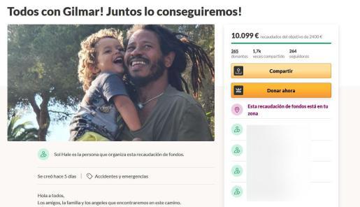 Imagen de la campaña en la página web.