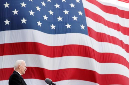 Joe Biden, durante un discurso.