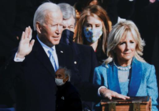 Joe Biden jura su cargo como presidente de los EE.UU.
