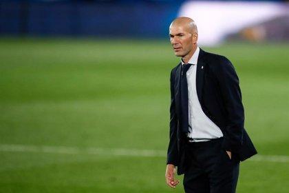 El entrenador del Real Madrid, Zinédine Zidane.