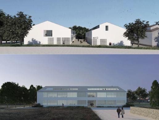 Proyecto de la obra de la nueva Escuela Oficial de Idiomas de Ibiza.