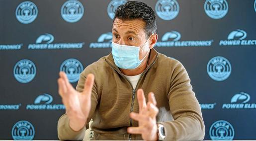 Amadeo Salvo, durante una entrevista realizada recientemente por Periódico de Ibiza y Formentera.