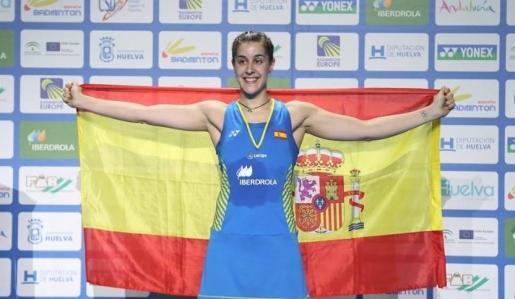 Carolina Marín, en una imagen de archivo.