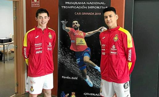Jordi Marí (izquierda), en una imagen de archivo.