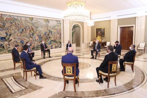 El Rey recibe al Consejo Directivo de la Mesa del Turismo. https://t.co/IBbvT9jcL2 https://t.co/paTM58KU53
